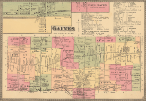 Map School District - Gaines